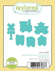 Taylored Expressions - Cutting Die - Love Train