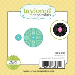 Taylored Expressions - Cutting Die - Little Bits Record