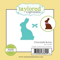 Taylored Expressions - Cutting Die - Little Bits Chocolate Bunny