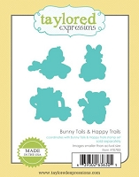 Taylored Expressions - Cutting Die - Bunny Tails & Happy Trails
