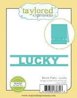 Taylored Expressions - Cutting Die - Block Party Lucky