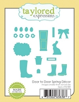 Taylored Expressions - Cutting Die - Door to Door Spring Decor
