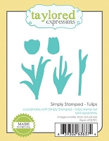 Taylored Expressions - Cutting Die - Simply Stamped Tulips