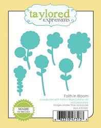 Taylored Expressions - Cutting Die - Faith In Bloom