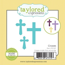 Taylored Expressions - Cutting Die - Little Bits Crosses