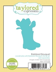 Taylored Expressions - Cutting Die - Rainboot Bouquet