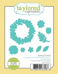 Taylored Expressions - Cutting Die - Spring Florals