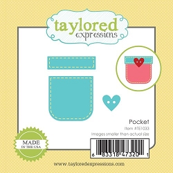 Taylored Expressions - Cutting Die - Little Bits Pocket