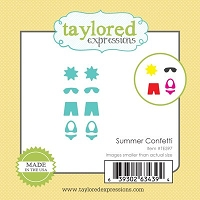 Taylored Expressions - Cutting Die - Little Bits Summer Confetti