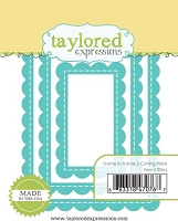 Taylored Expressions - Cutting Die - Frame in Frame 2 Cutting Plate
