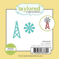Taylored Expressions - Cutting Die - Little Bits Windmill