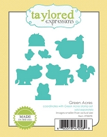 Taylored Expressions - Cutting Die - Green Acres