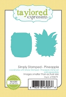 Taylored Expressions - Cutting Die - Simply Stamped Pineapple