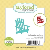 Taylored Expressions - Cutting Die - Little Bits Adirondack Chair