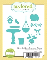 Taylored Expressions - Cutting Die - Door to Door Summer Decor