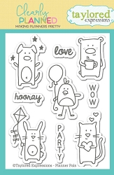 Taylored Expressions - Clearly Planned Clear Stamp - Planner Pals