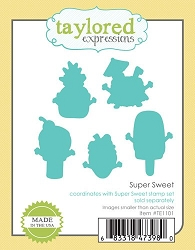 Taylored Expressions - Cutting Die - Super Sweet