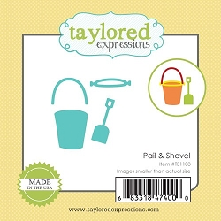 Taylored Expressions - Cutting Die - Little Bits Pail & Shovel