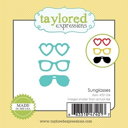 Taylored Expressions - Cutting Die - Little Bits Sunglasses