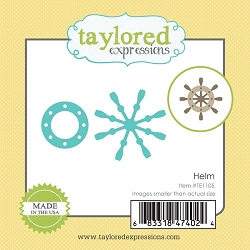 Taylored Expressions - Cutting Die - Little Bits Helm