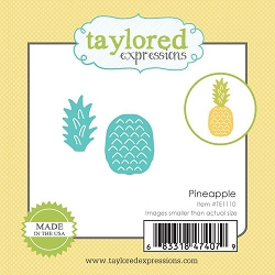 Taylored Expressions - Cutting Die - Little Bits Pineapple