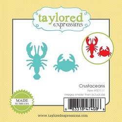 Taylored Expressions - Cutting Die - Little Bits Crustaceans