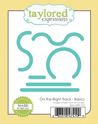 Taylored Expressions - Cutting Die - On The Right Track - Basics