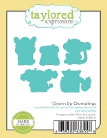 Taylored Expressions - Cutting Die - Grown Up Grumplings Dies