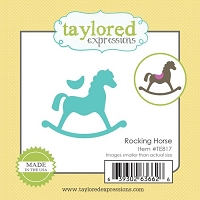 Taylored Expressions - Cutting Die - Little Bits Rocking Horse
