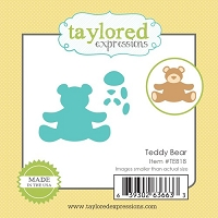 Taylored Expressions - Cutting Die - Little Bits Teddy Bear