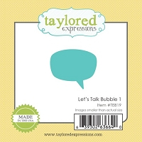 Taylored Expressions - Cutting Die - Little Bits Bubble 1