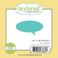 Taylored Expressions - Cutting Die - Little Bits Bubble 2