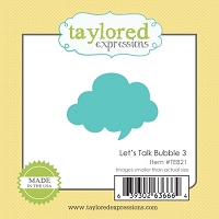 Taylored Expressions - Cutting Die - Little Bits Bubble 3