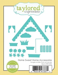 Taylored Expressions - Cutting Die - Home Sweet Home Accessories
