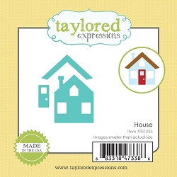 Taylored Expressions - Cutting Die - Little Bits House
