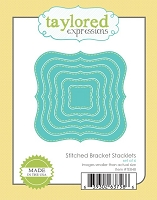 Taylored Expressions - Cutting Die - Stitched Bracket Stacklets