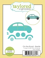 Taylored Expressions - Cutting Die - On The Road Beetle