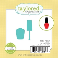 Taylored Expressions - Cutting Die - Little Bits Nail Polish