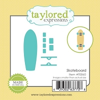 Taylored Expressions - Cutting Die - Little Bits Skateboard