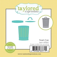 Taylored Expressions - Cutting Die - Little Bits Trash Can