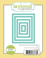 Taylored Expressions - Cutting Die - Stitched Frame Stacklets 1