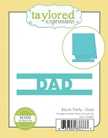 Taylored Expressions - Cutting Die - Block Party Dad