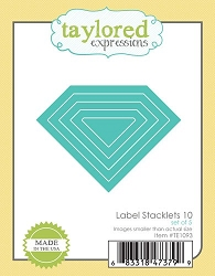 Taylored Expressions - Cutting Die - Label Stacklets 10