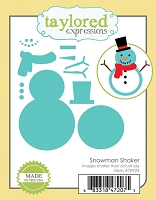 Taylored Expressions - Cutting Die - Snowman Shaker