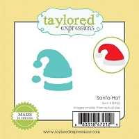 Taylored Expressions - Cutting Die - Little Bits Santa's Hat