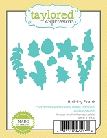 Taylored Expressions - Cutting Die - Holiday Florals