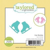 Taylored Expressions - Cutting Die - Little Bits Ice Skates