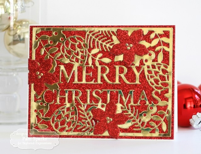 Taylored Expressions Cutting Die Merry Christmas