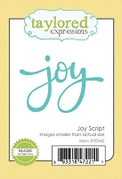 Taylored Expressions - Cutting Die - Joy Script