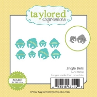 Taylored Expressions - Cutting Die - Little Bits Jingle Bells